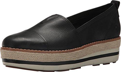 Timberland Womens Emerson Point Slip-On Black Full Grain 9.5 B - Medium (Timberland Women Loafer)