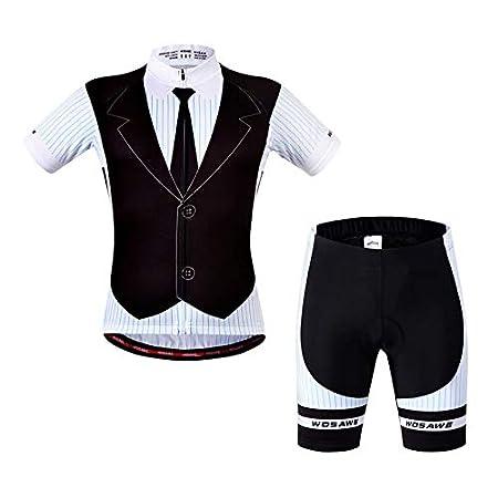 376db91cd Yogamada Men Women Summer Cycling Clothes Set Short Sleeve Cycling Shirts  Shorts