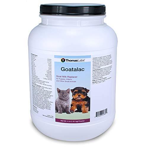 Thomas Laboratories 110-2720.P06 Goat-A-Lac Supplement Powder for Pets, 4-Pound