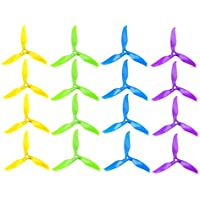 iFlight 8 Pairs/16pcs Nazgul T5061 High-Speed Tri-blade Propeller 5 5061 Prop CW CCW for FPV Racing and Freestyle Quadcopter Frame (Mix Colors)