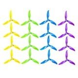 """iFlight 8 Pairs/16pcs Nazgul T5061 High-Speed Tri-blade Propeller 5"""" 5061 Prop CW CCW for FPV Racing and Freestyle Quadcopter Frame (Mix Colors)"""