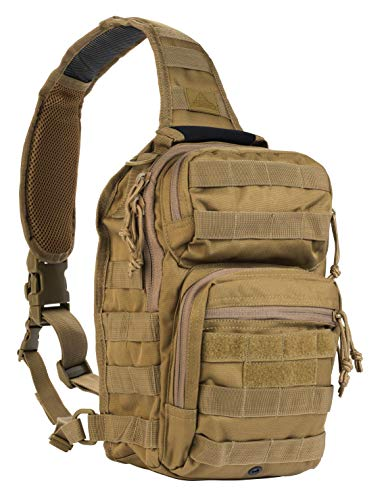 Red Rock Outdoor Gear Rover Sling Pack (Coyote) (Best Get Home Bag Backpack)