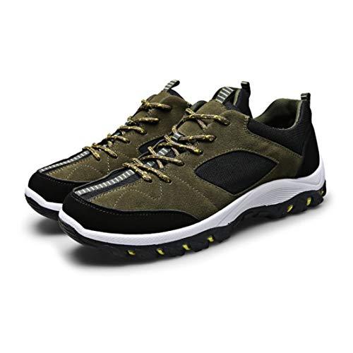 Sport Chaussures Armée L'usure Jogging Extérieures Randonnée Vert Pied Bottes Pratique D'alpinisme 44 Course Antidérapantes Respirantes Escalades Résistantes De Et À wqxp4XUxat