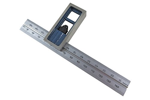 PEC Tools Metric 150 mm Double Machinist Square accurate +/- 0.001