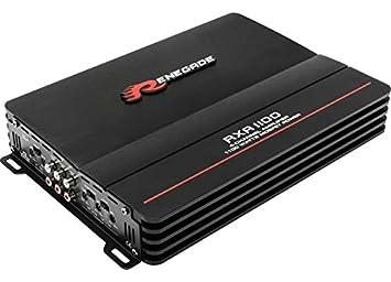 Renegade RXA1100 amplificador para coche - amplificadores para coche (Negro, 50-250 Hz