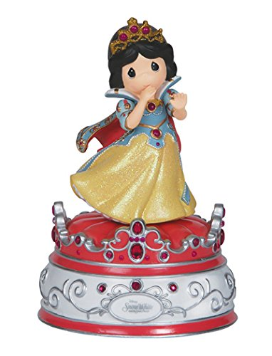 Precious Moments Disney Showcase Collection, Snow White, Resin Music Box, (Precious Moments Disney Snow)
