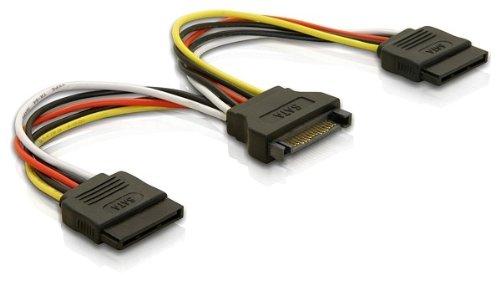 2 opinioni per DeLOCK Cable Power SATA 15pin > 2x SATA HDD – straight- cable interface/gender