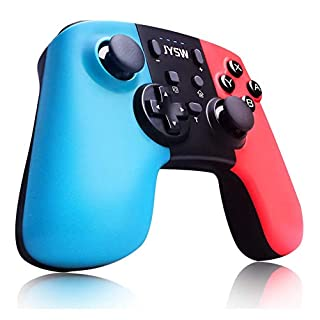 Upgraded Pro Wireless Switch Controller for Nintendo Switch/Lite - Gamepad Joypad Remote Joystick Replace for Nintendo Switch Controller, Adjustable Turbo Vibration, Motion Control