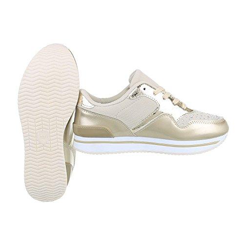 Fashion Freizeitschuhe Damen Schuhe Sneakers 4694 Pink 40