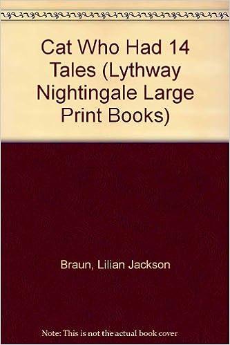 Ebook for kindle free download The Cat Who Had 14 Tales by Lilian Jackson Braun PDF RTF DJVU
