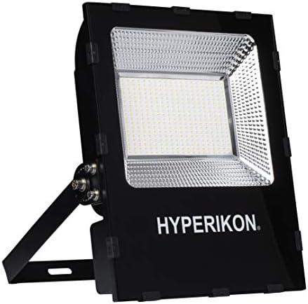 Hyperikon LED Flood Light, 150W 750 Watt HID HPS Replacement , Crystal White Super Bright Outdoor Lighting, IP65 Waterproof, UL, DLC