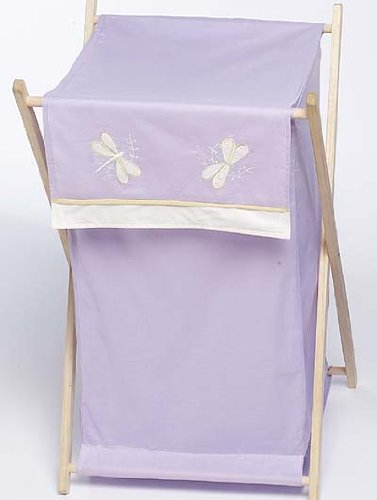 Sweet Jojo Designs Baby and Kids Clothes Laundry Hamper - Pu