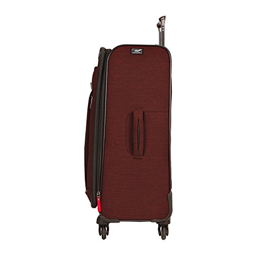 Ricardo Beverly Hills Malibu Bay 25-inch Spinner Upright Suitcase Suitcase, Orange
