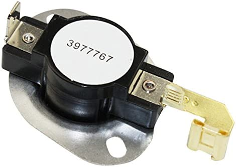 Whirlpool 3977767 OEM Replacement Dryer Thermostat on