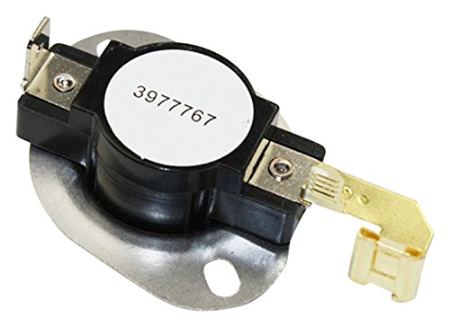 Whirlpool 3977767 OEM Replacement Dryer Thermostat (Part Whirlpool 3392519)