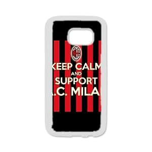 DIY phone case AC Milan cover case For samsung_galaxy_s6 edge AS1E7749796