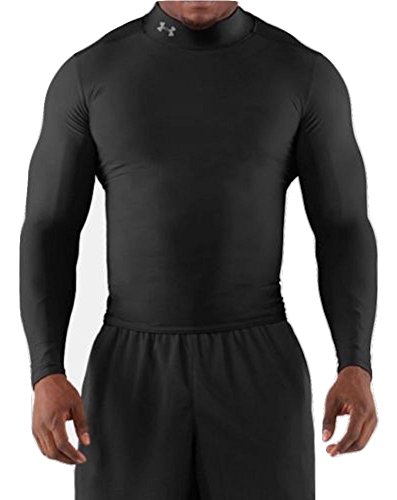 Under Armour Men's Coldgear Compression L/S Mock Turtleneck (Medium)