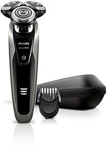 Philips SHAVER Series 9000 S9161 Plata - Afeitadora (Batería / Corriente, Ión de litio, Plata, Ergonomic)