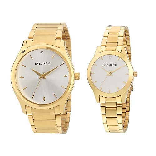 Swiss Trend Analogue Premium Classy Watch for Couples Man Woman
