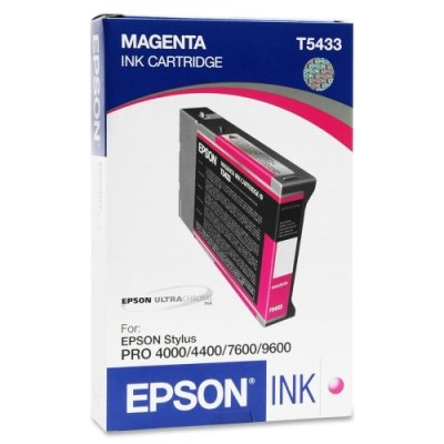 Epson T543300 Magenta 110ml UltraChrome Ink Cartridge for Pro 4000, 7600 and 9600