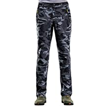Women's Waterproof Softshell Pants Camouflage Anti-UV Outdoor Sports Trousers