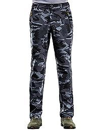 Women's Waterproof Softshell Pants Camouflage Anti-UV Outdoor Sports Trousers