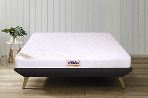 Springtek Day Dreamer 4 inches Coir Foam Single Size Mattress  White, 72x36x4