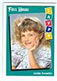 Full House trading card 1991 Impel Laffs #8 Jodi Sweetin Stephanie Tanner