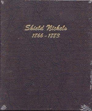 Dansco US Shield Nickel Coin Album 1866-1883 (Album Nickel)