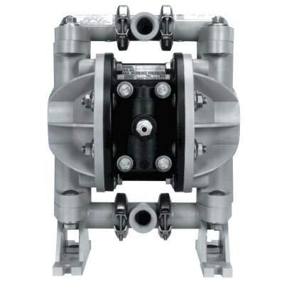 1/2In Air-Oper Dbl Diaphragm Poly Pump W/Elastom