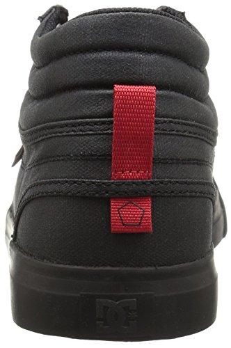 DC Women's TX Evan Red Skateboarding Shoe SE Black HI rSqrzw