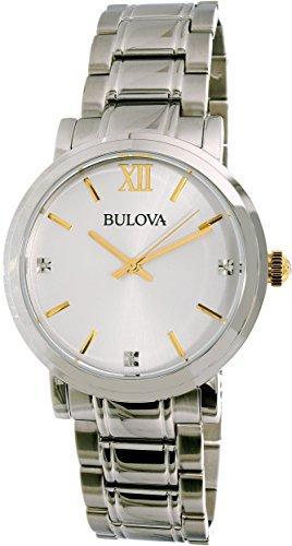 Bulova Men's 98D135 Diamond Stainless Steel Watch