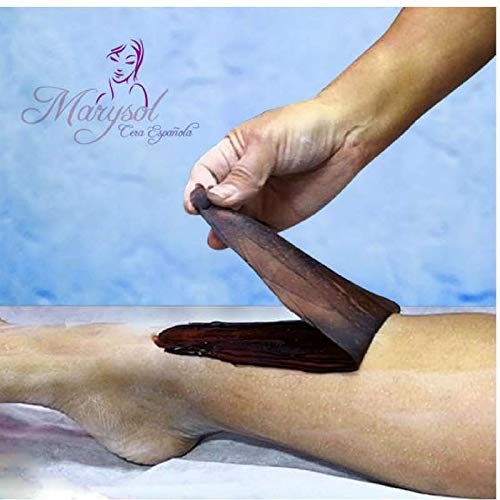 Amazon.com : Cera Depiladora de Arandano Española Elastica Marysol hard wax Depilacion sin Bandas No-Strip Disposable Wax Salon Spa estetica Vello Corporal ...