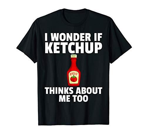 Ketchup Gift Tomato Sauce Lover T-Shirt