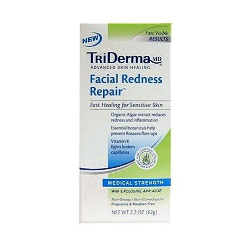 TriDERMA® Facial Redness Repair™-Packaging: 2.2 oz Tube - UOM = Each ()