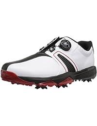 Men's 360 Traxion Boa WD Cblack Golf Shoe