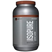 Nature's Best Isopure Low Carb 3-Pound Chocolate, 1361-Gram