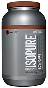 Isopure Low Carb Protein Powder, Whey Protein Isolate, Flavor: Dutch Chocolate, 3 Pounds (Packaging May Vary) 8