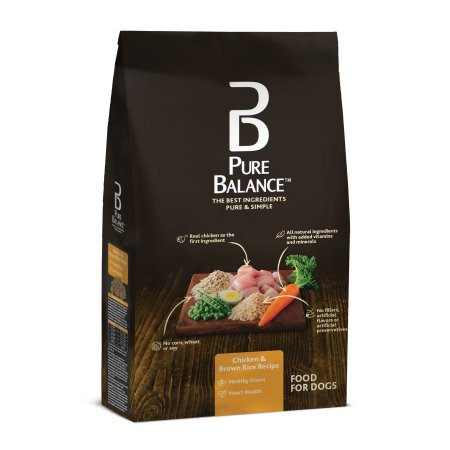Pure Balance 30 Pounds All Natural Chicken Brown Rice Dry Dog Food