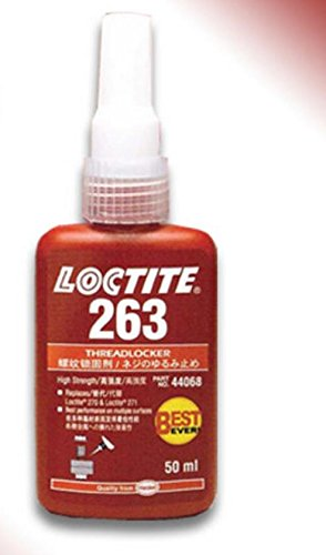 Loctite 263 50ml RED Threadlocker High Strength Glue