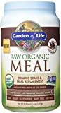 Cheap Garden of Life Meal Replacement – Organic Raw Plant Based Protein Powder, Chocolate, Vegan, Gluten-Free, 35.9oz (2lb 4oz/1,017g) Powder