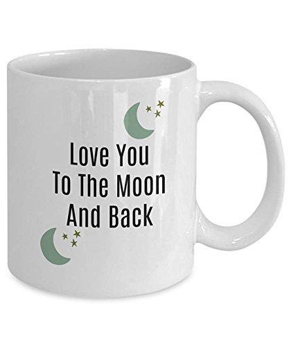 Patriot Coffee Cake (Love You To The Moon And Back Mug/ Novelty Coffee Mug/ Fun Mug Gift/ Luna Love Mug/ 11oz 15oz)