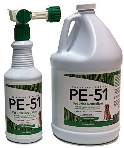 - Grass Deodorizer 1 Gallon + 32 oz Bottle w/Nozzle - Starter Pack
