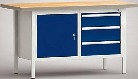 Klw Lutz Workbench 2 Doors 2 Drawers Ws177 N 1500 M40 E1660 1 50 M