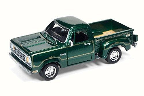 - 1978 Dodge Warlock, Metallic Green - Round 2 Johnny Lightning JLCG002B - 1/64 Scale Diecast Model Toy Car