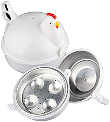 Morning May - Olla para cocinar Huevos (microondas, gallina ...