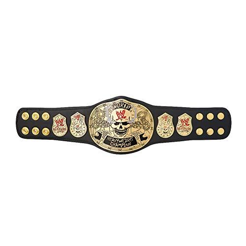 WWE Authentic Wear Smoking Skull Championship Mini Replica Title Belt ()