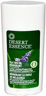 product image for Desert Essence Tea Tree Deodorant, 2.5 Ounce - 6 per case.