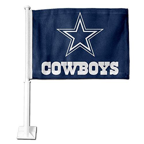 Nfl Team Car Flags - Dallas Cowboys NFL Team Color Car Flag