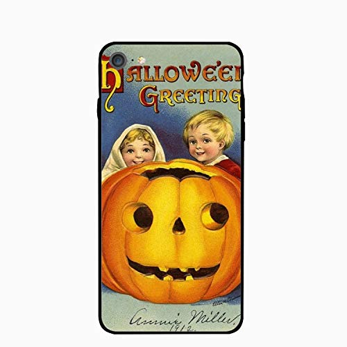 iPhone 6 Case,iPhone 6s Case,Hallowe'en Greeting Girls Women Best Protective Rubber Slim Fit Thin Phone Case Compatible iPhone 6/iPhone 6s